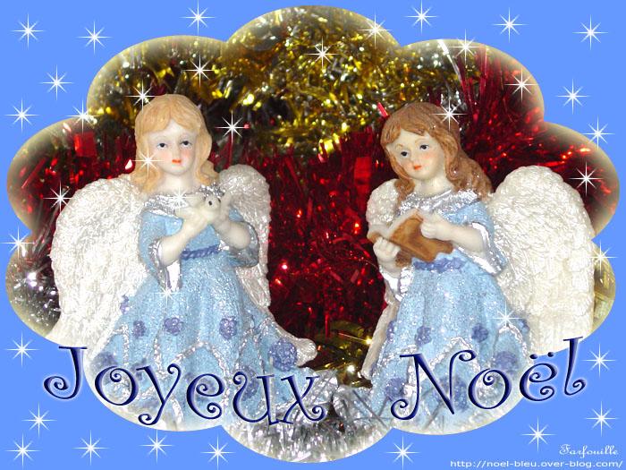 Les anges et joyeux no l bon dimanche de f tes - Anges de noel ...