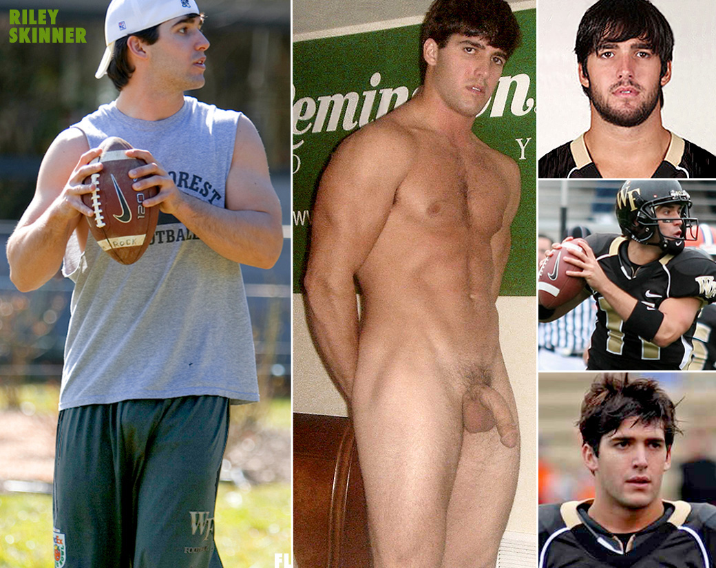 football player in naked