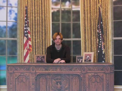 Benoit Broisat Oval Office
