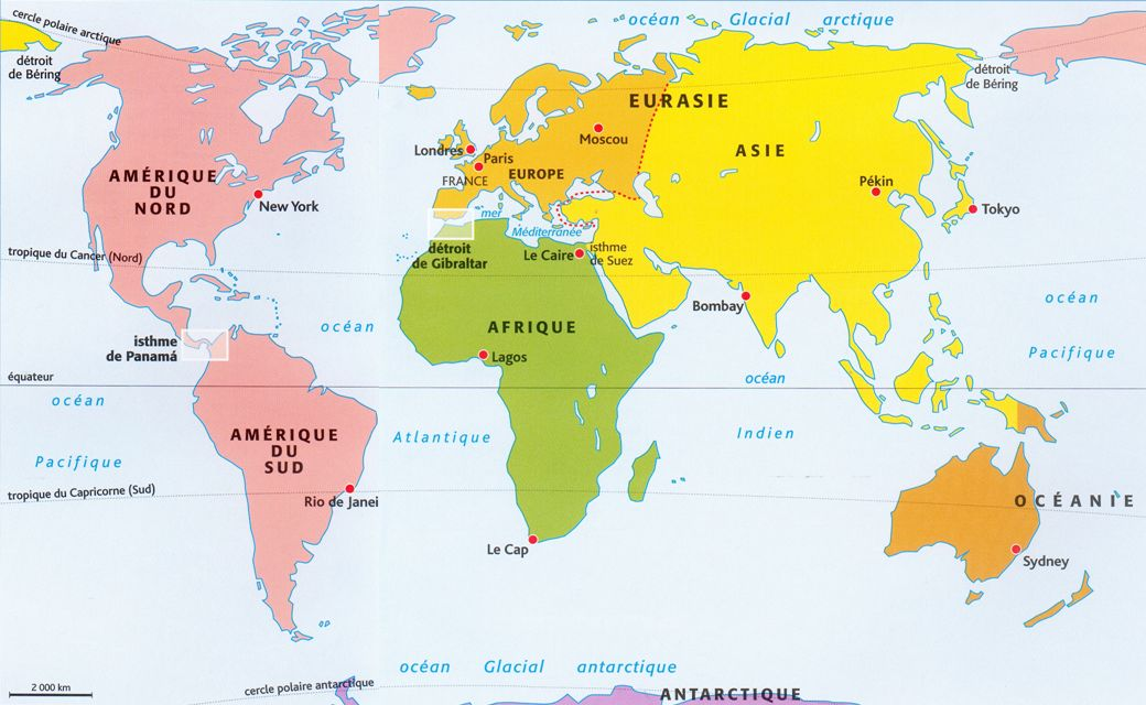 carte du monde continents – World Map, Weltkarte, Peta Dunia, Mapa